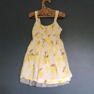 Other - Lemon dress with adjustable straps and tulle